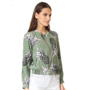 Ban Dakota Pineapple Bomber Jacket